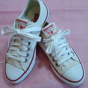 True Religion 'chucks-style'  Canvas Sneakers